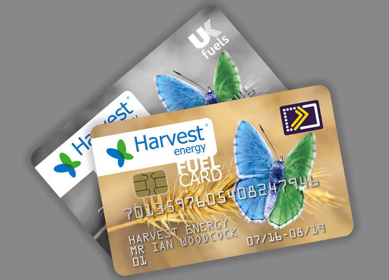harvest energy fuel cards