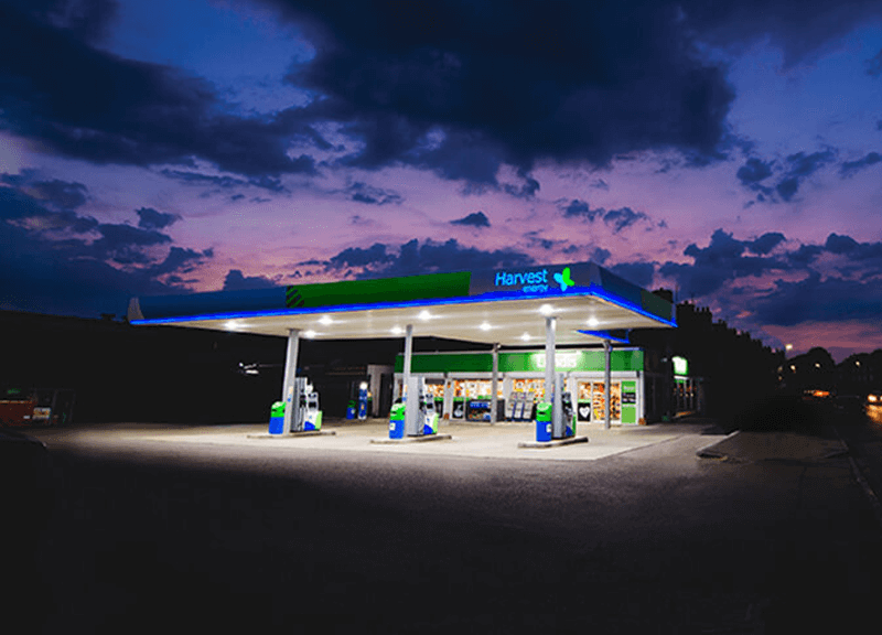 Harvest Energy fuel station